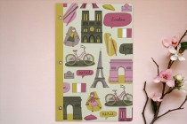 Giveaway!  Your Very Own Personalized Parisian Journal, Courtesy of Minted